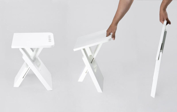 Folding Stools Are Trendy Once More 7 Interesting Designs