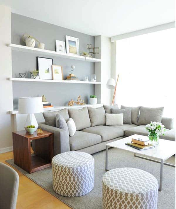 update sectional sofa Get Some Fun Floor Cubes Or Ottomans