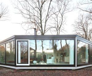 Geometrical house design in Belgium