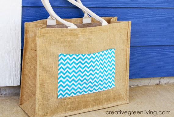 How to make a new sew chevron tote bag
