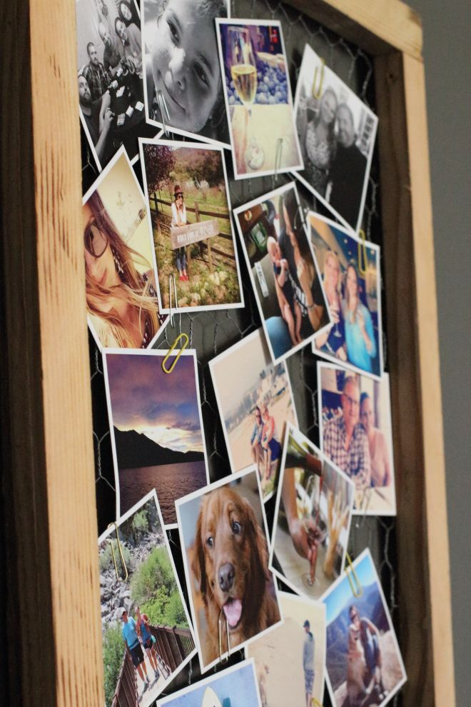 Instagram frame with wire