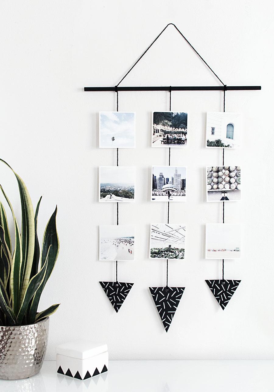 Instagram wall hanging