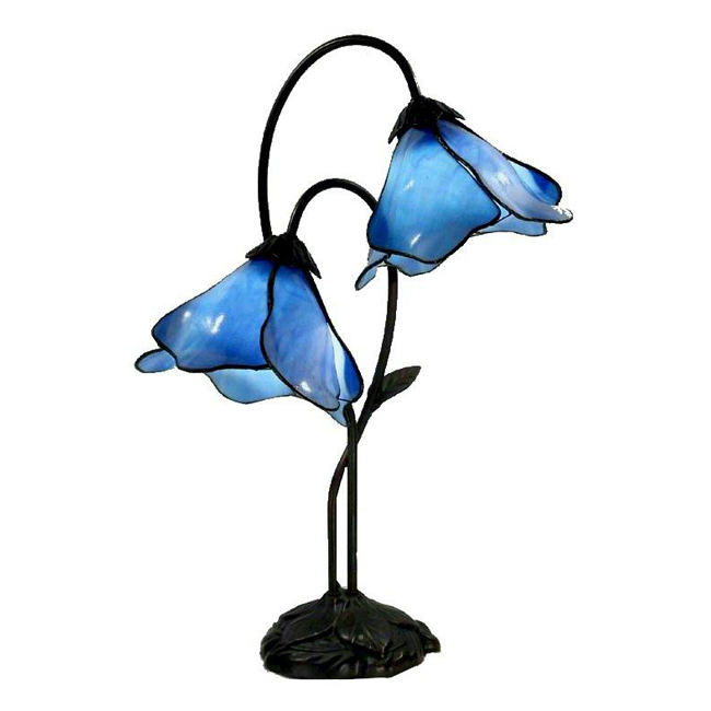 Accent Blue Table Lamp