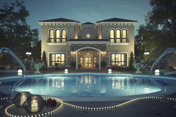 Beautiful Tuscan Villa In Dubai