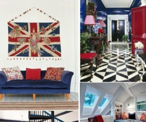 Red, White, & Blue: National Pride In Your Home