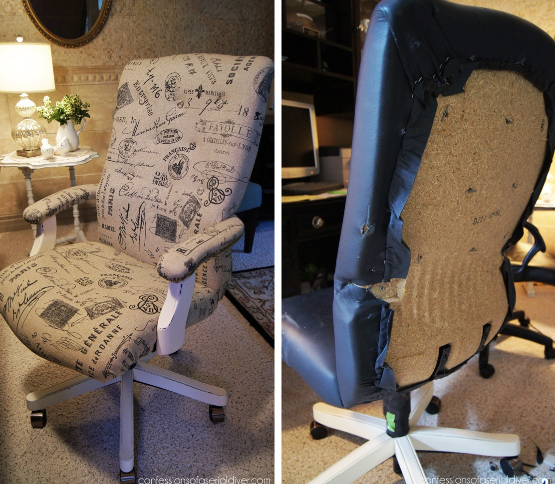 Chic And Colorful Desk Chair Makeovers For Diy Lovers