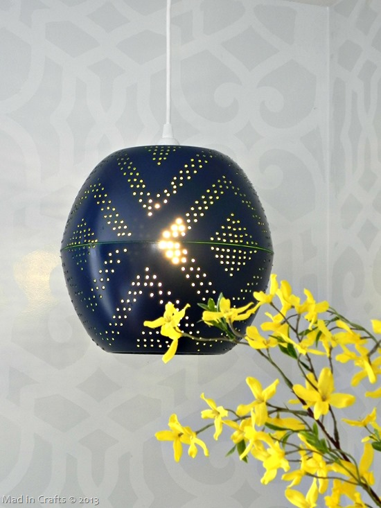 Perforated globe