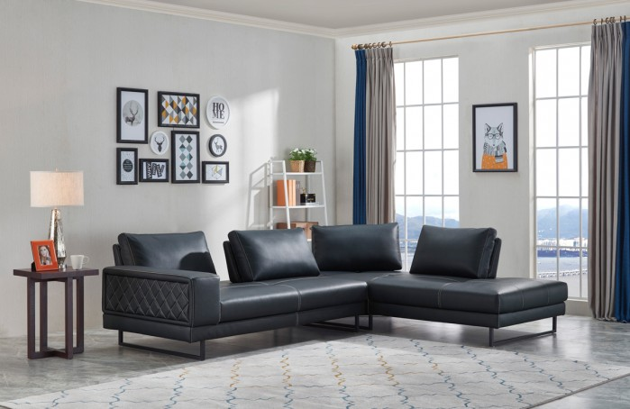 update sectional sofa Place unique Art pieces Behind Your Sectional