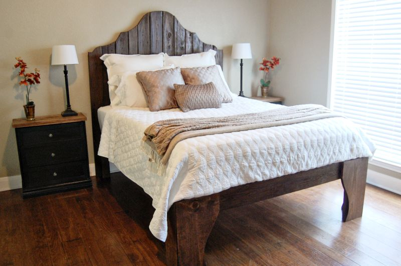 Reclaimed wood bed project