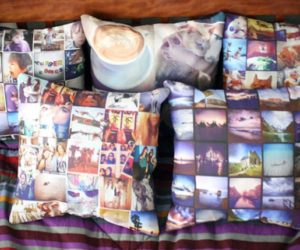 Personalized Stitchtagram Pillows