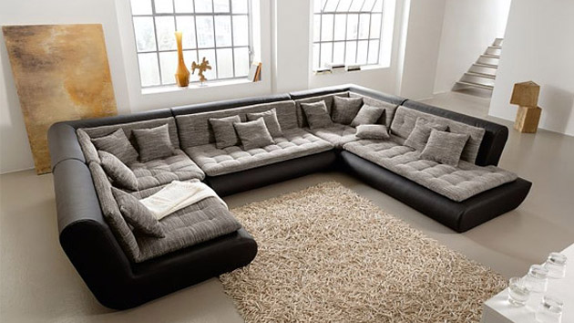 update sectional sofa Swap Out The Legs Of Your Sectional