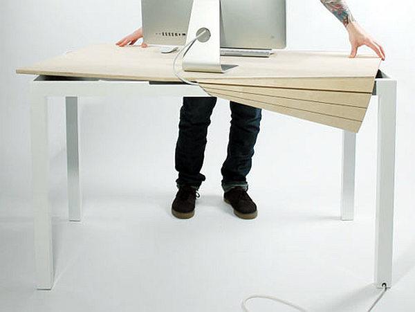 Revolutionary Tambour Desk
