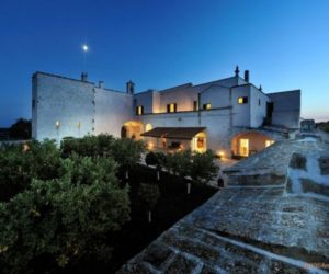 The rustic Masseria Lamacoppa manor