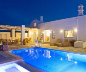 The luxurious Tramountana villa in Santorini