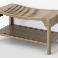 Walcourt Rectangular Wood Bench Great Ideas