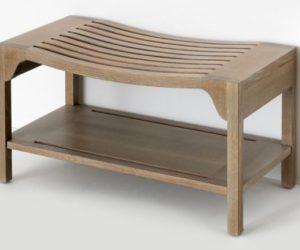 Walcourt Rectangular Wood Bench
