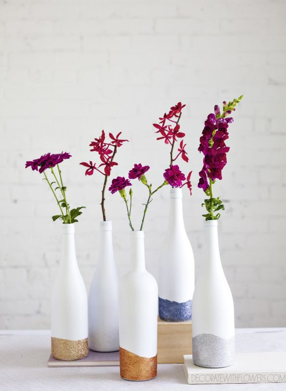 Fun With Bottles How To Turn Them Into Vases