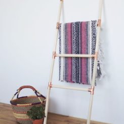 Clever Ways Of Turning Ladders Into Accent Pieces For The Home