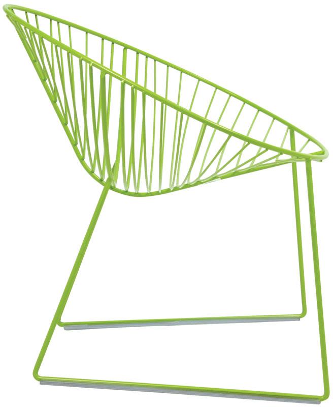The Arper leaf lounge chair