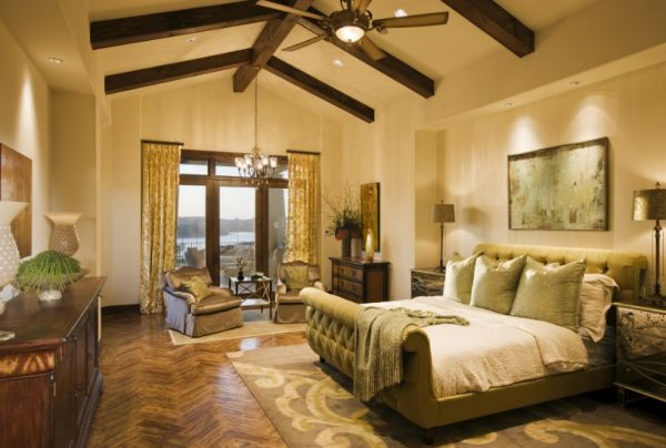 Beautiful Interiors That Feature Exposed Wooden Beams