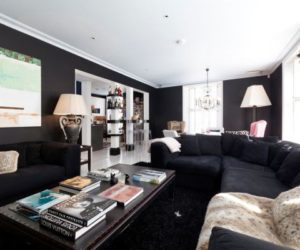 ... Two Bedroom Apartment With Luxurious Living Interior Design
