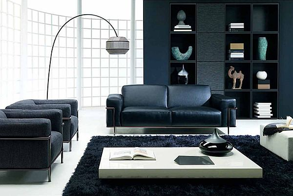 Beau Color Design Ideas With Black Furniture · View In Gallery