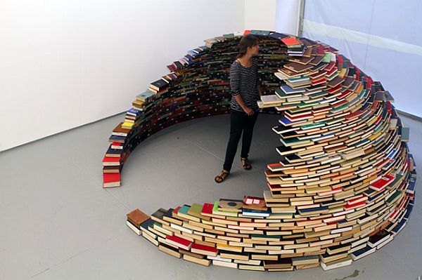 "An ""Igloo"" of Books by Miler Lagos"
