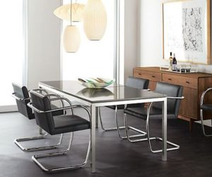 The elegant Brno chair for dining table