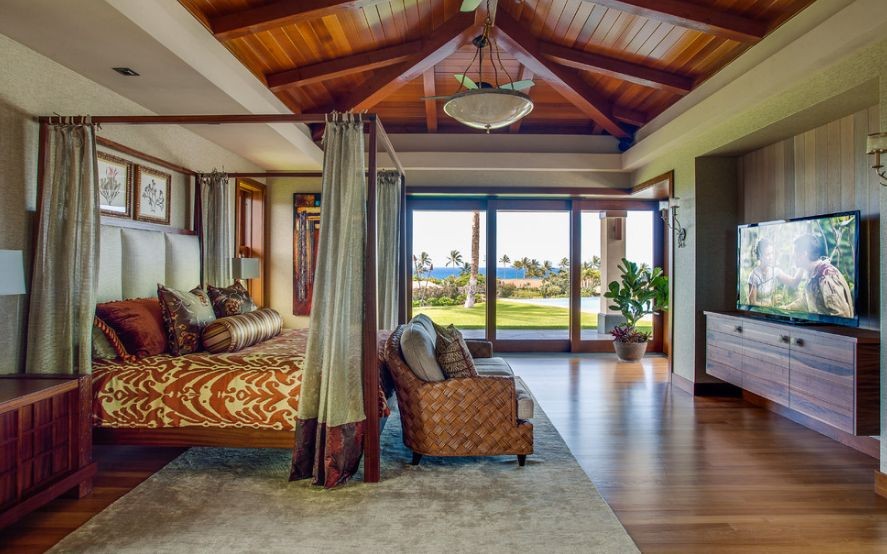 . How To Have a Tropical  Island Themed Bedroom At Home