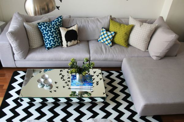 How To Place A Rug Under Sectional Sofa Area Rug Ideas