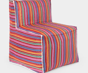 Colorful Foldable Chair by Andrés Lhima