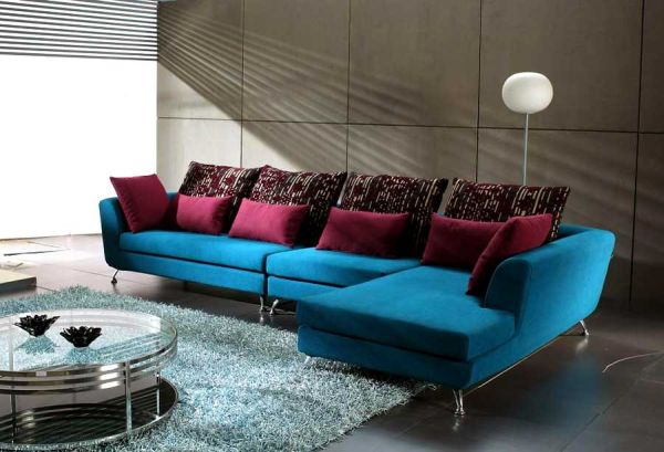 View in gallery : colorful sectionals - Sectionals, Sofas & Couches