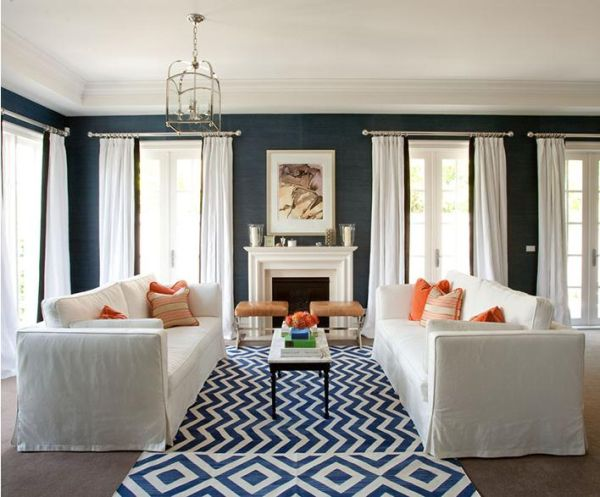 Fab Color Combo: Navy And White Great Pictures