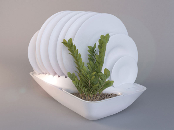 The Contemporary Fluidity Dish Rack