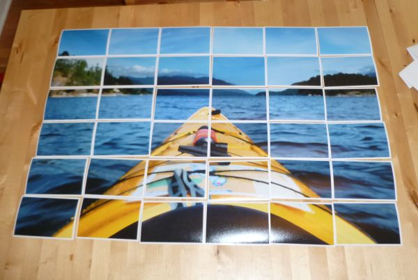 View in gallery & Decorate Your Empty Walls with a DIY Enlarged Photo Art