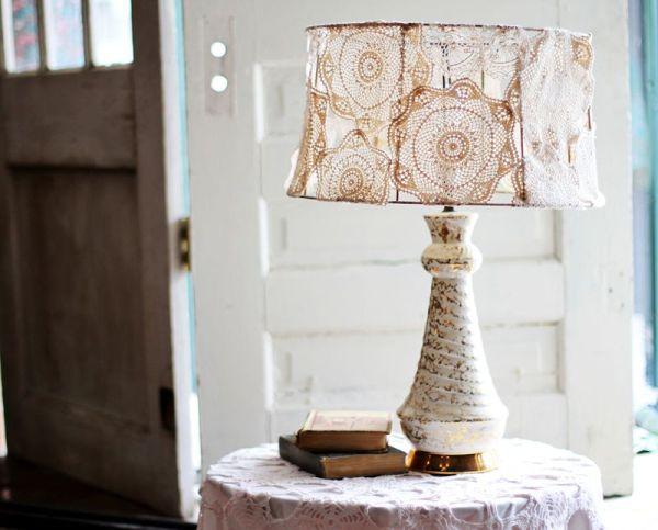 8 Prodigious Unique Ideas Lamp Shades Repurpose Lamp: DIY Vintage Lamp Makeover