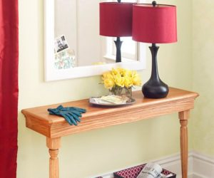 Narrow Console Tables And Their Extreme Versatility