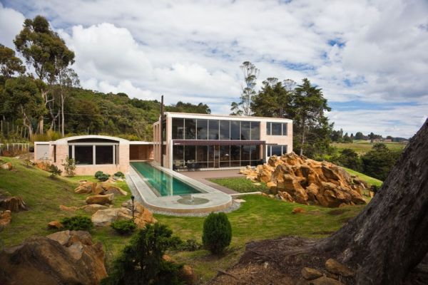 Contemporary Family Residence In Medellin Colombia - Two-storey-single-family-residence-by-baan-design