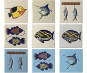 Mexican Fish Tiles