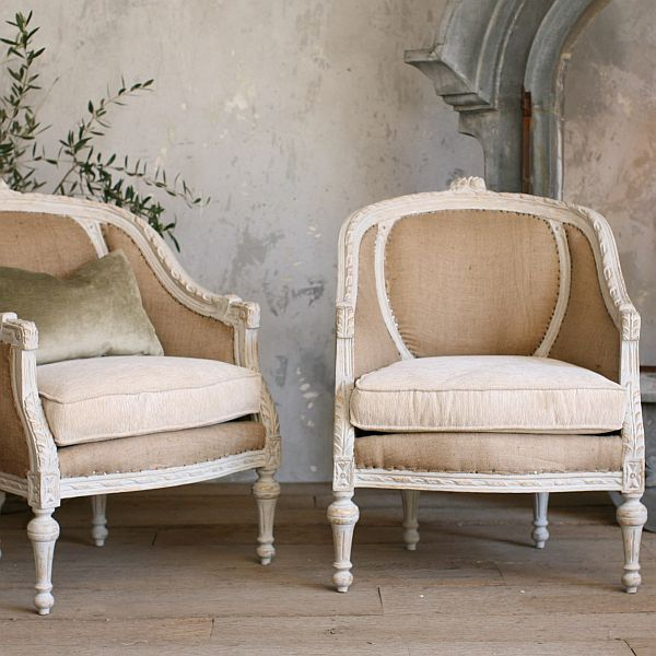 Two Very Stylish Louis XVI Style Chairs
