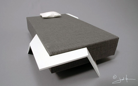 A bed that grows with you. & Top 15 Creative Beds That Will Make You Question Your Knowledge ...
