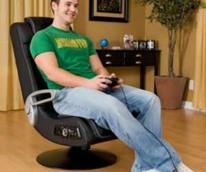 Comfortable X-Rocker Pro Series Wireless Game Chair