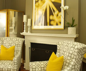 Hot Color Combo: Yellow & Gray
