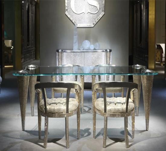 Rampazzi Swarovki Crystal Furniture