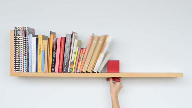 A Bookshelf That Holds Your Books Upright Awesome Design