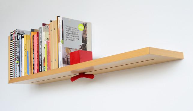 A Bookshelf That Holds Your Books Upright - Lieul-bookshelf-by-ahn-daekyung