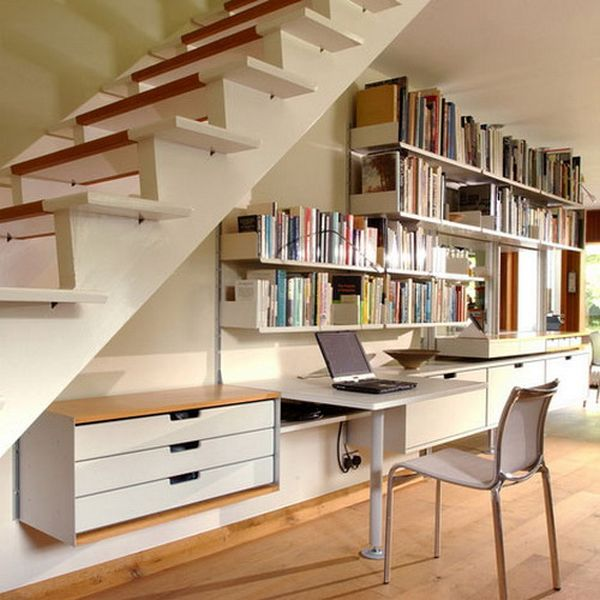 043acb0028 60 Under Stairs Storage Ideas For Small Spaces Making Your House ...