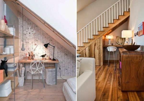 Ways To Use The Space Under Stairs