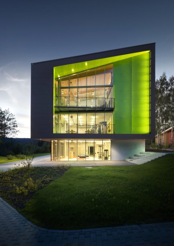 Sustainable Sports Hotel By M2r Architecture