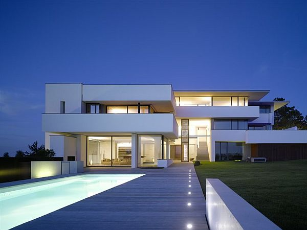 Big Modern White House